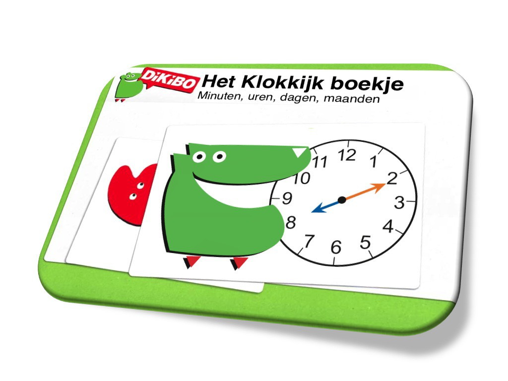 Genoeg Klokkijken leren in groep 3, 4 en 5 met het DiKiBO klokkijkboekje #IZ48